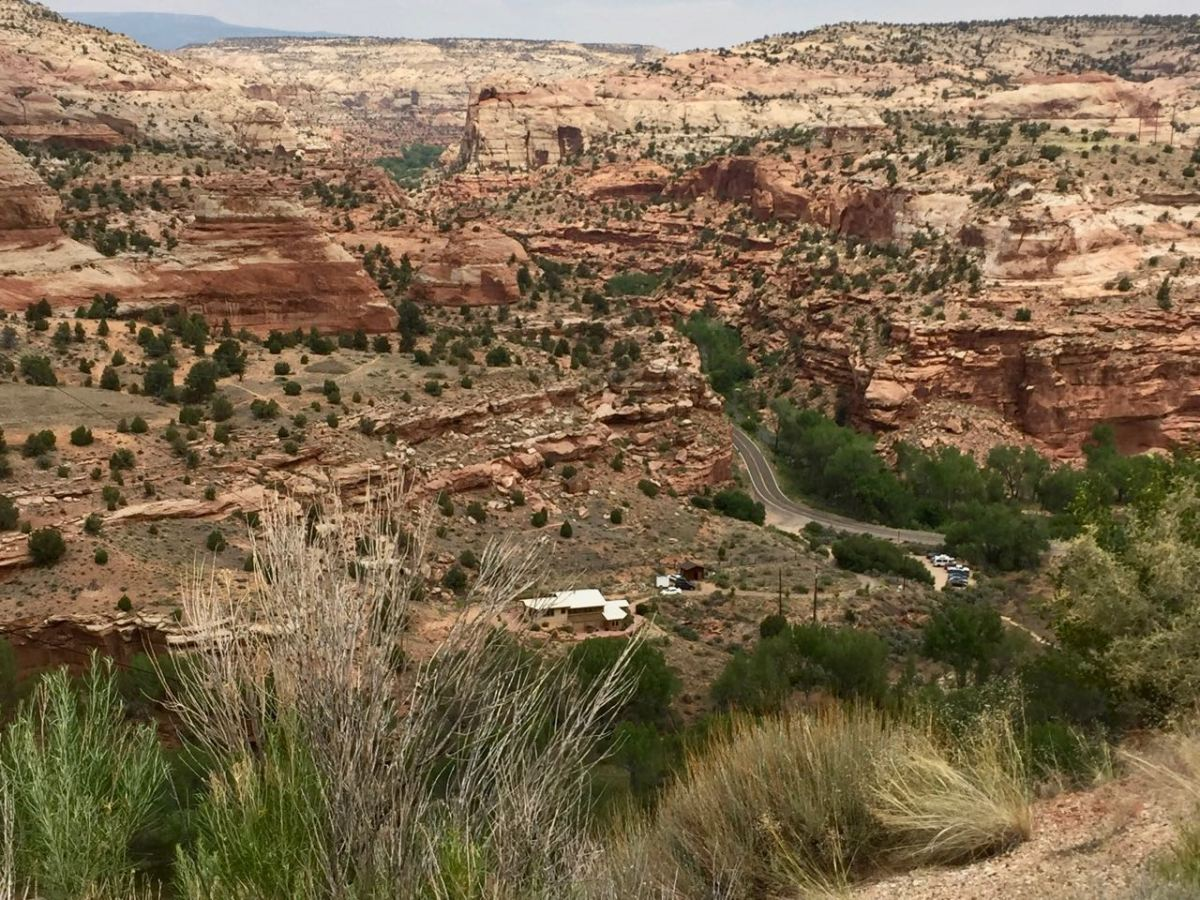 Bryce Canyon to Capitol Reef