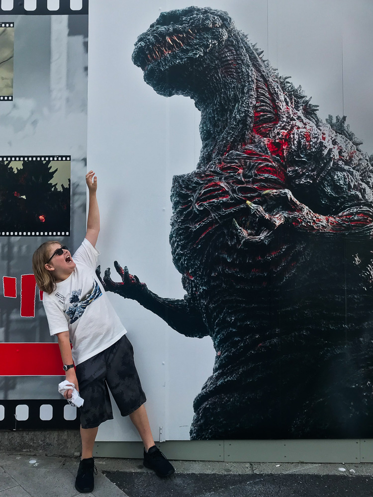 Godzilla Tokyo