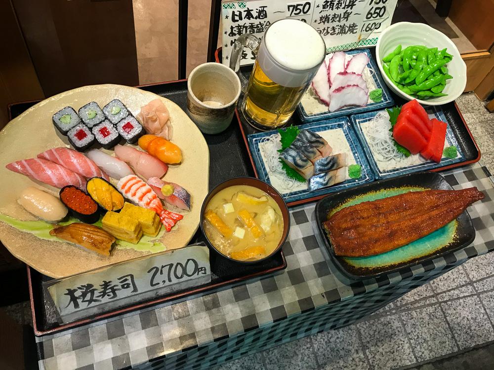 Sushi Restaurant, Shinjuku
