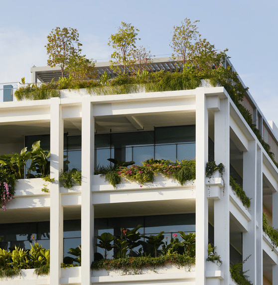 apartment blocks with clean air, the new must-have for renters