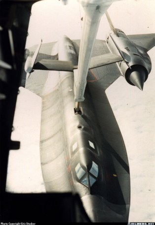SR-71 refueling from KC-10