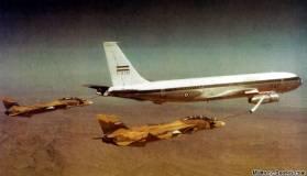 Boeing 707 refueling tanker Iran F-14