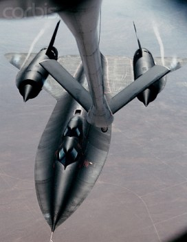 SR-71 refueling from KC-135