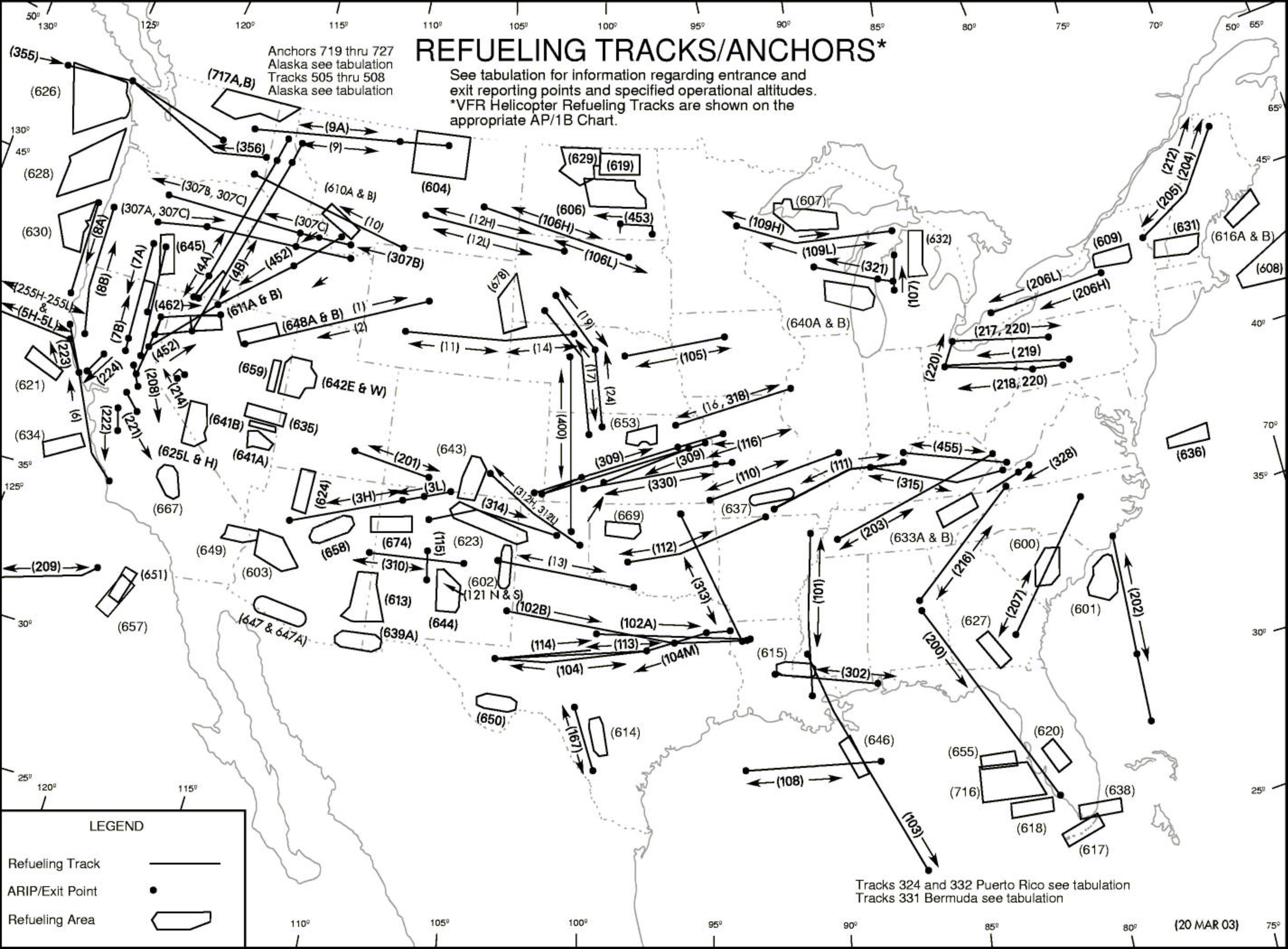 Air Refueling Tracks And Anchors Air Refueling Archive