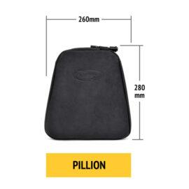 Pillion size air rider Motorcycle Air Cushion.