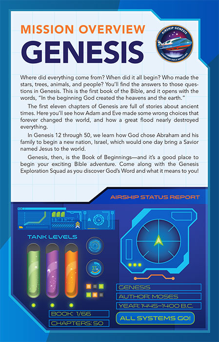 Airship Genesis: Legendary Bible Adventure KIDS STUDY BIBLE