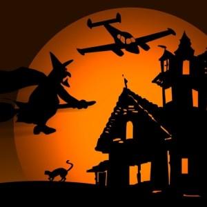 Carodejnice na letisti
