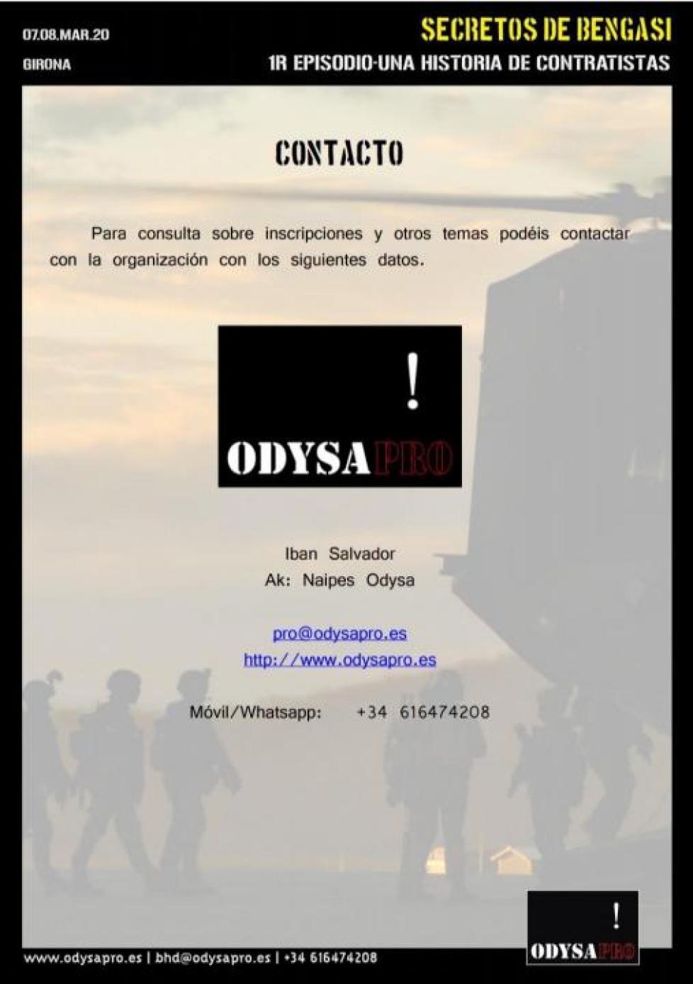 SECRETOS DE BENGASI: La Presentación en imágenes Bengasi