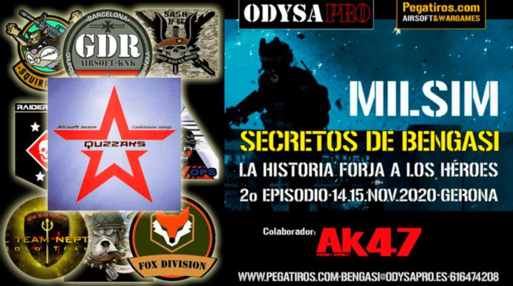 ODYSA damos la bienvenida a QUZZAKS en Secretos de Bengasi Bengasi Milsim