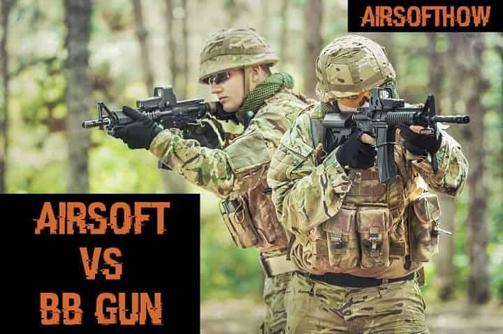 Airsoft vs BB gun