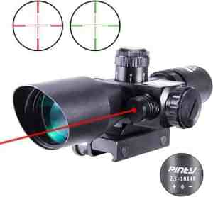 10x40 Red Green Illuminated Mil-dot Tactical Rifle Scope