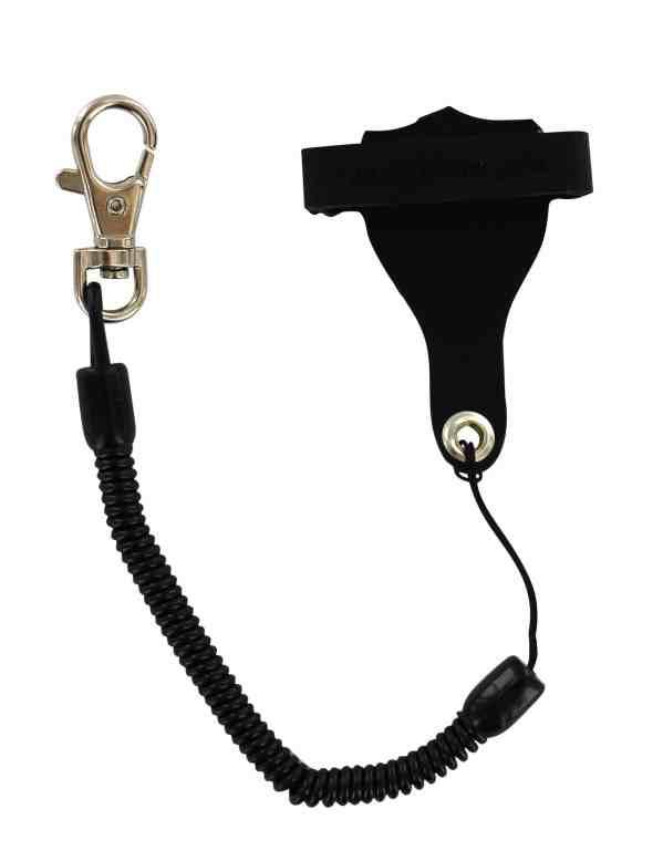 accroche téléphone leash universel