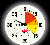 Altimètre FT 50 Phosphorescent / Altimeter FT 50 Night Screen by Viplo