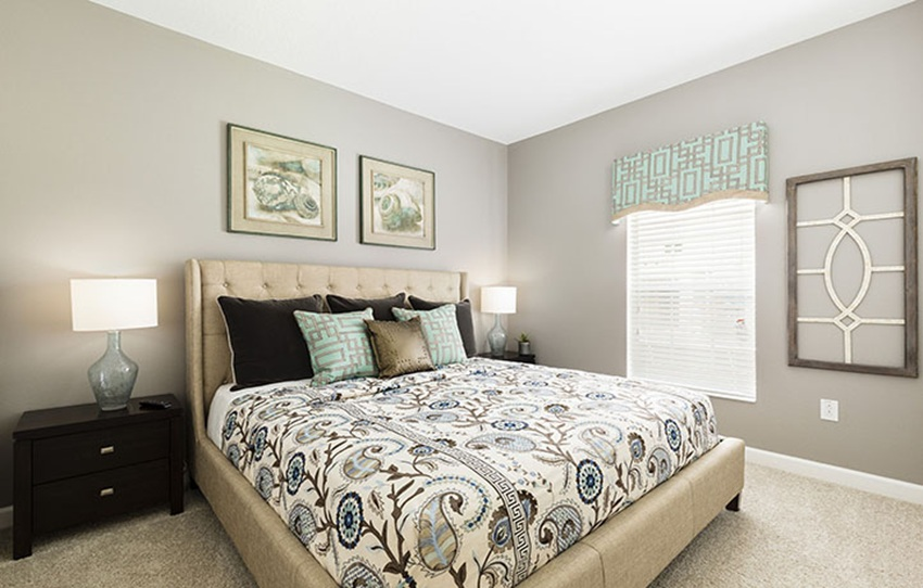 4th bedroom Royale Palm model located at ChampionsGate