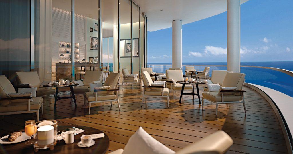 Club room terrace