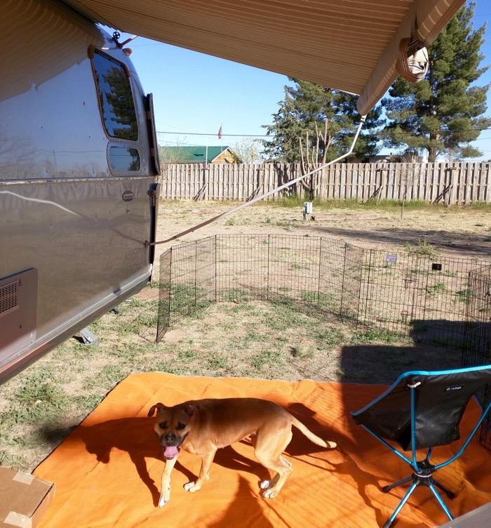airstream yard ft davis campground