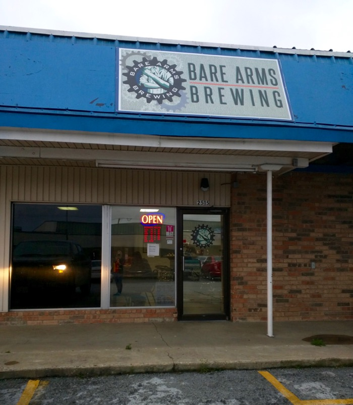 bare arms brewing