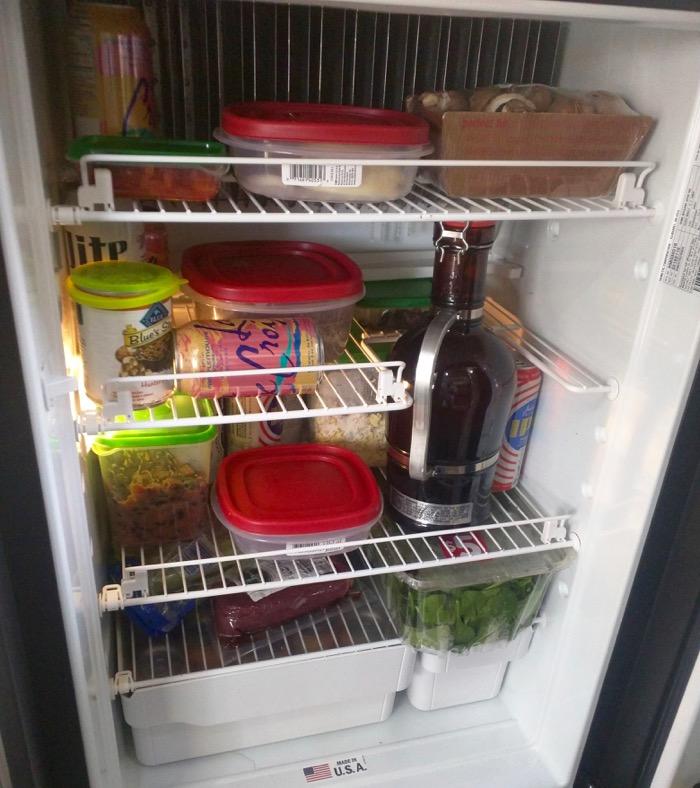 airstream fridge