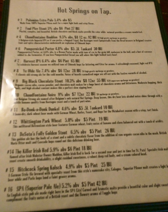 superior beer list