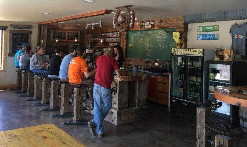 elevation brewery poncha springs