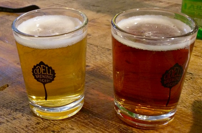 odell brewing beer tasters