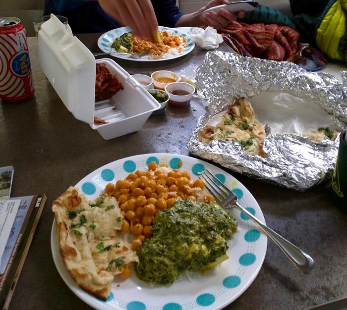 montrose indian food