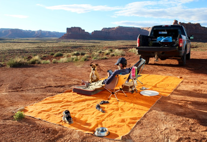 boondocking in valley of the gods utah