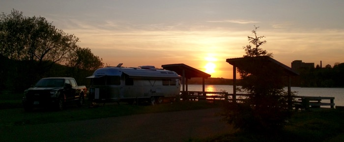 airstream sunset houghton city rv park