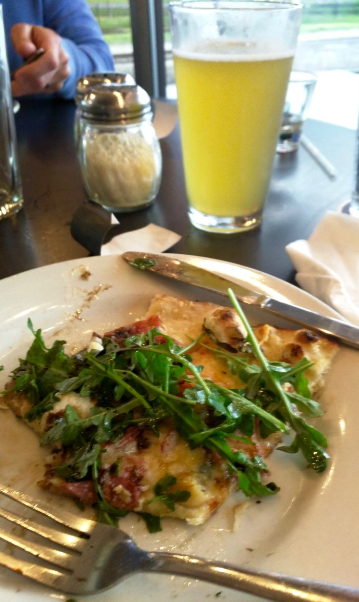 the filling station microbrewery pizza