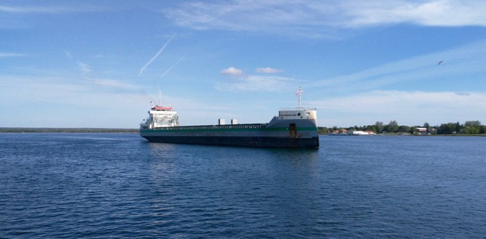 st marys river freighter