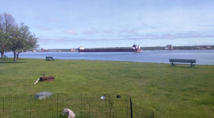 sault ste marie freighter