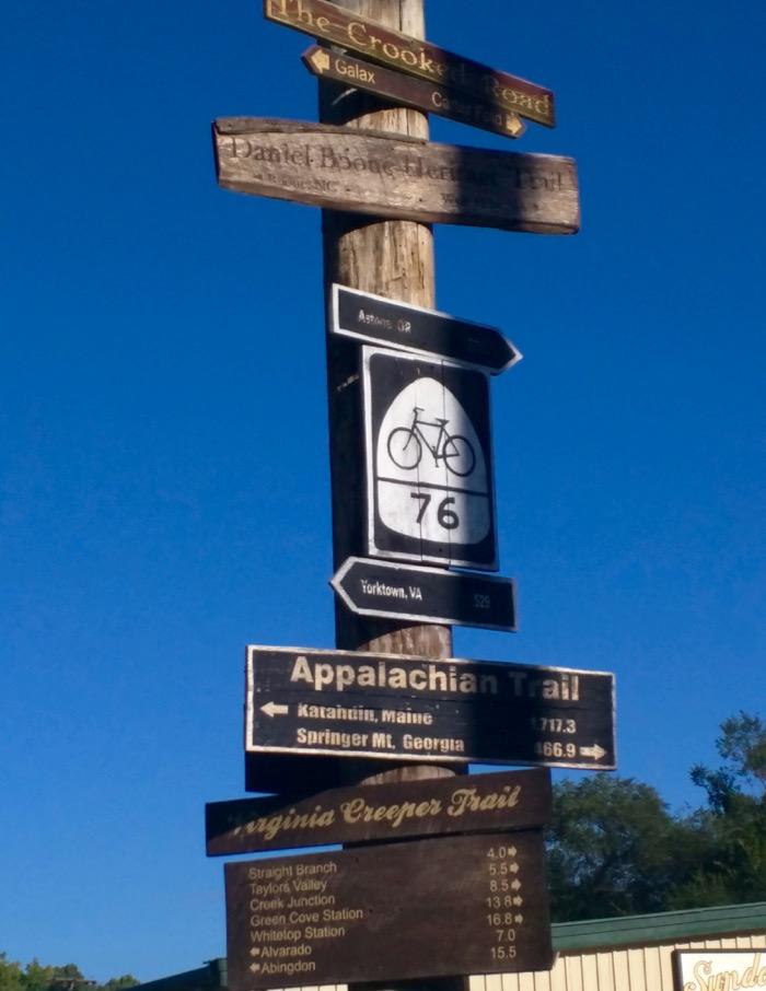 damascus trail town usa