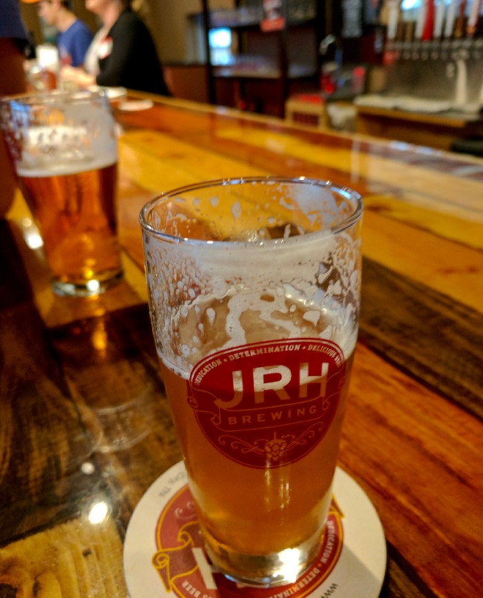 beer at JRH brewing