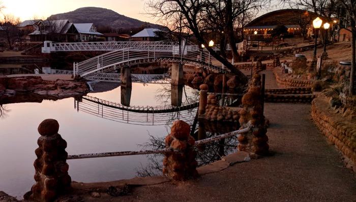 bridge over Medicine Creek