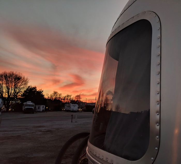 airstream sunset