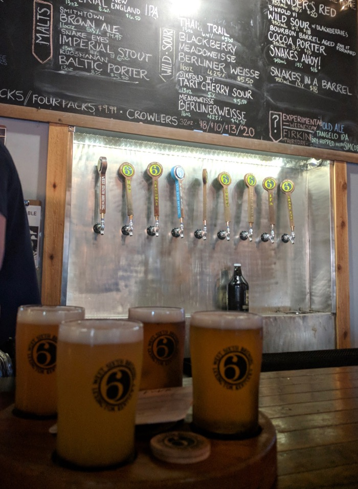 west sixth brewing lexington