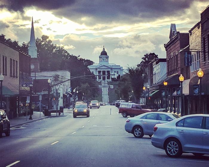 downtown sylva