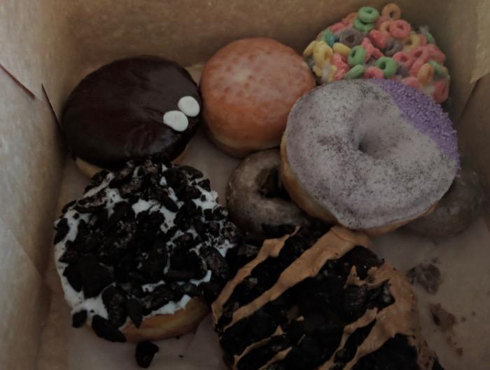 Voodoo Doughnuts: before