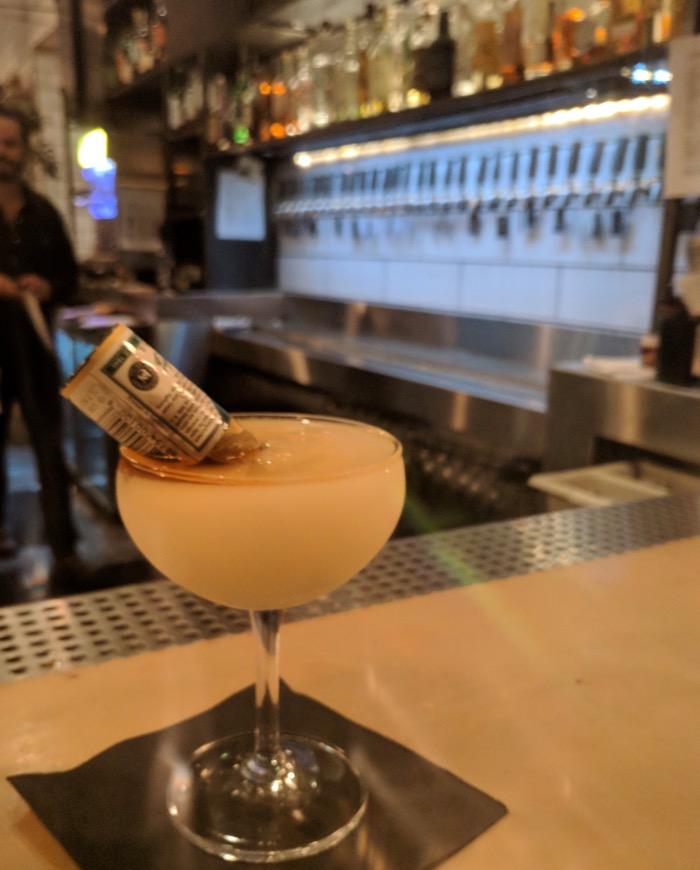halloween cocktail at Butchertown Hall