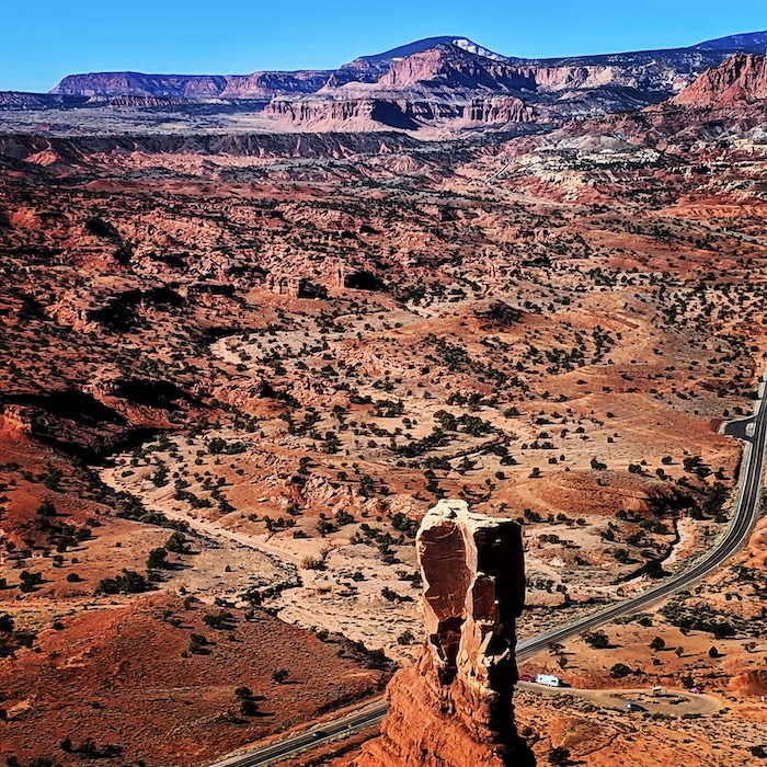 capitol reef airstream view