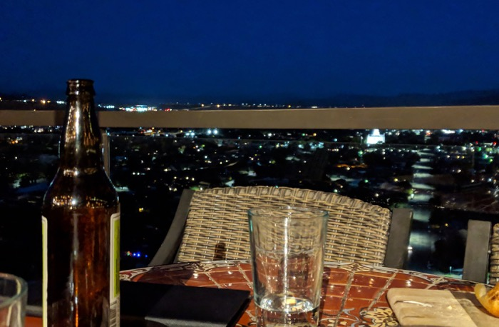 Cliffside Restaurant view in St George
