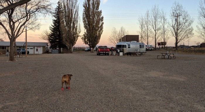 Mountain View RV campground in Monticello Utah