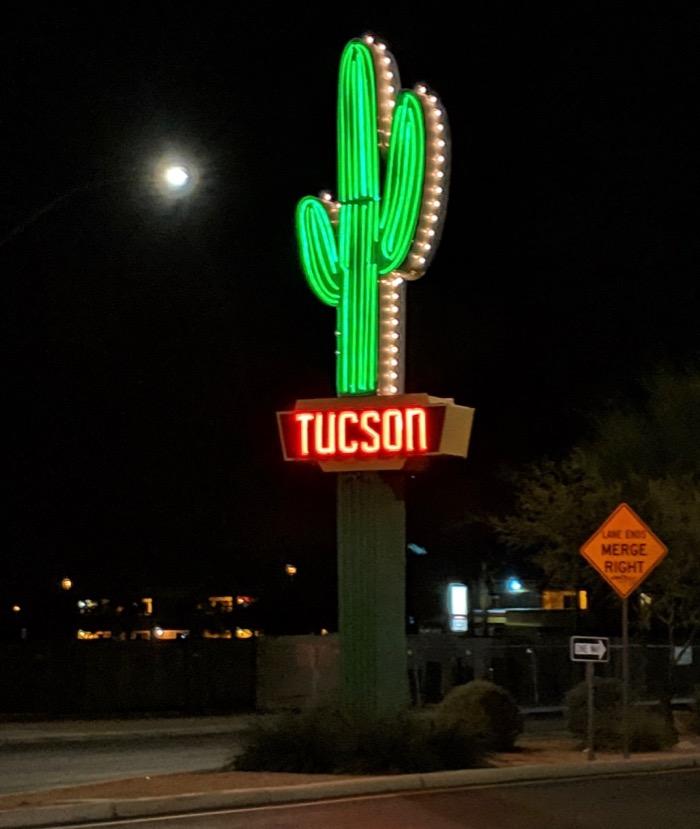 tucson's neon cactus