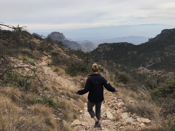 Big Bend Emory Peak hike