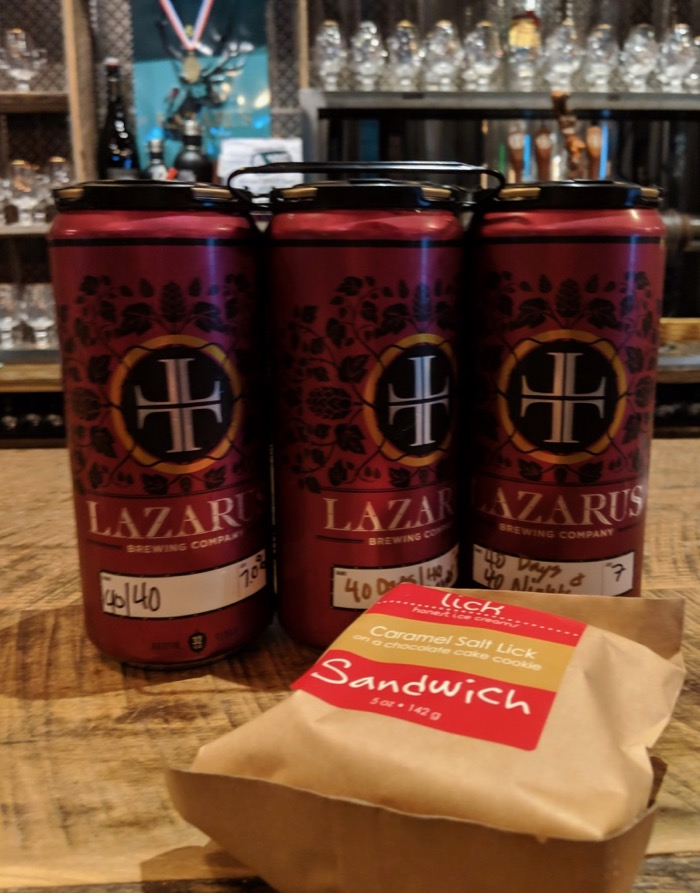Lazarus Brewing in Austin