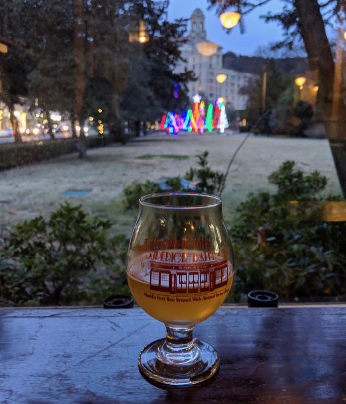 Superior Bathhouse Brewing beer