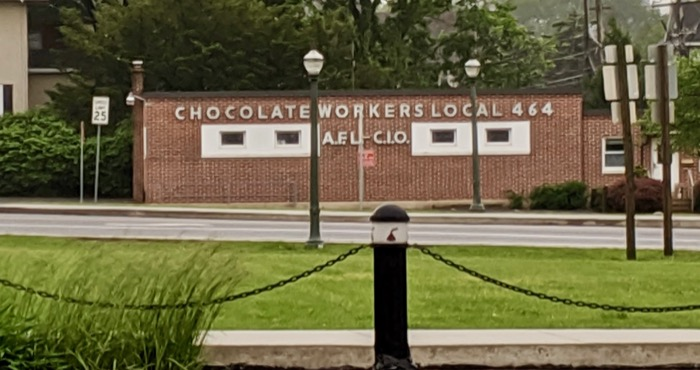 chocolate workers union in hershey