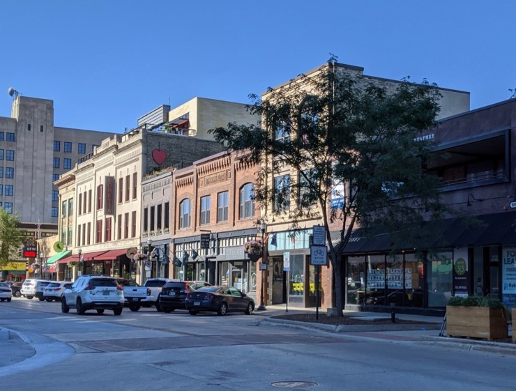 downtown Fargo buildings