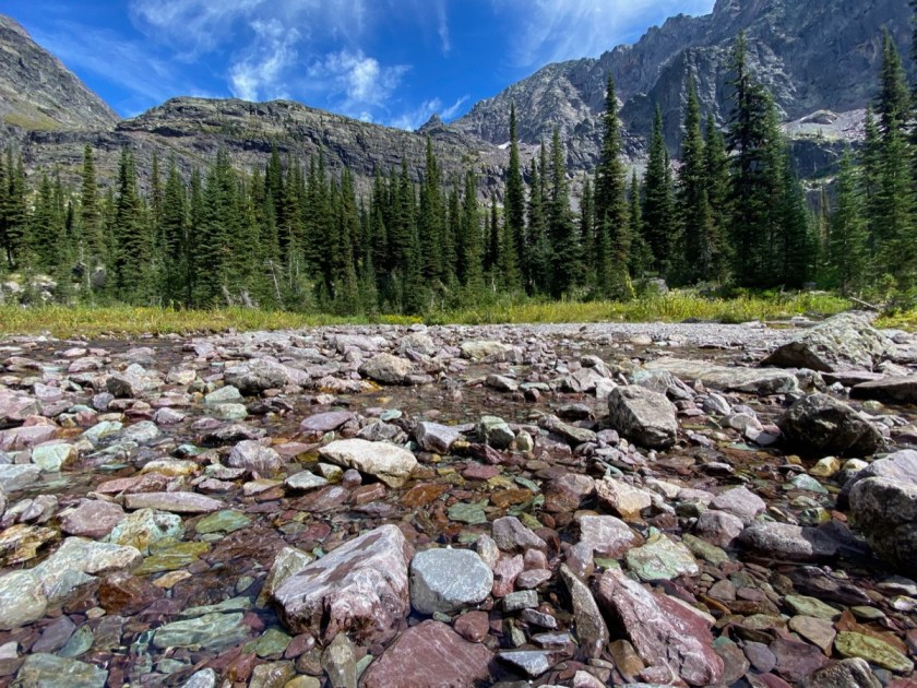 Sperry Lake Trail in GNP