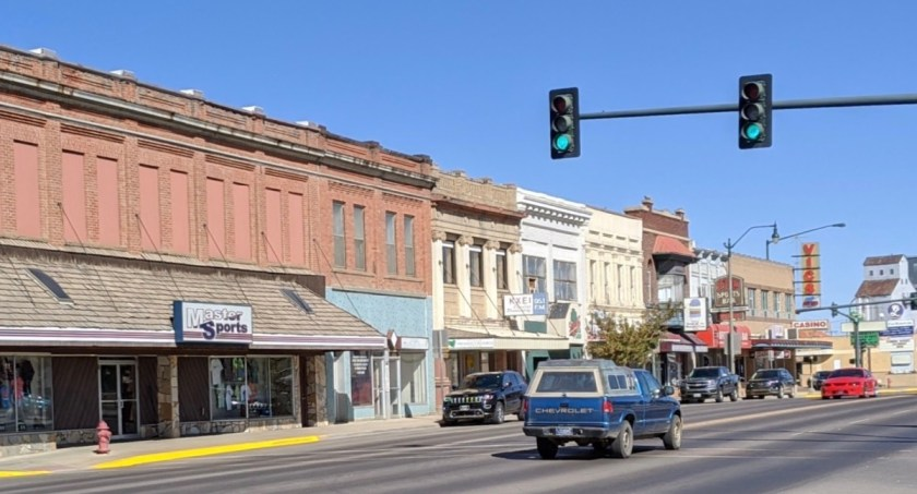 downtown Havre, MT